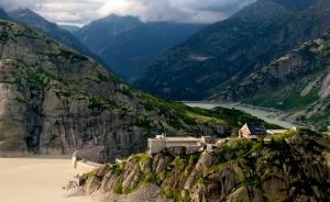 Swiss mountain retouch