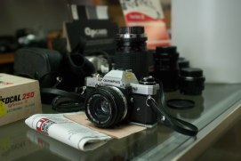 I found a camera shop that specialized in film cameras and printing.