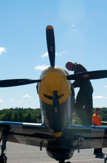 A pilot at the Kent Air Show. This photo became a part of the Lost in Oscar Hotel project.